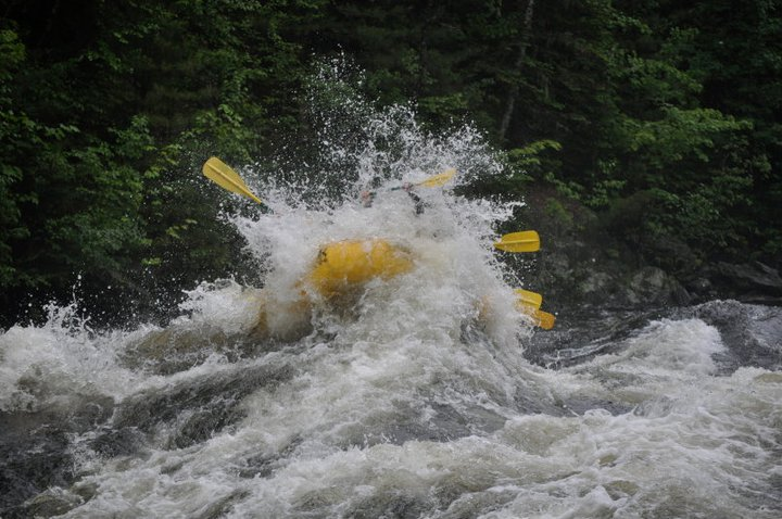 Rafting on the Kennobec River!